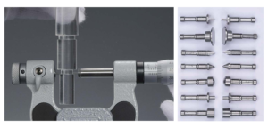 NON ROTATING SPINDLE & INTERCHANGEABLE TYPE UNIVERSAL MICROMETER