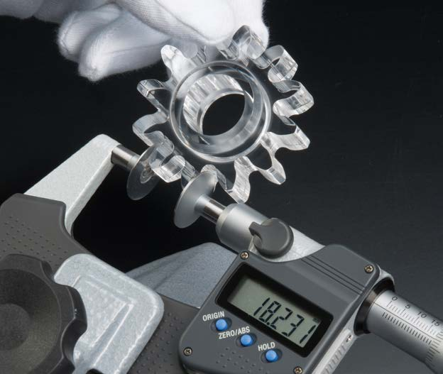 NON ROTATING SPINDLE TYPE PAPER MICROMETER