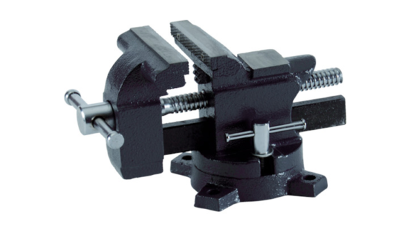 Turntable vise (square body shaft) for light work 100 mm