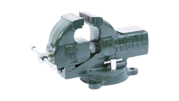 Upright Vise with a turntable