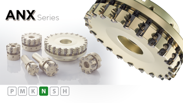 ANX series - High-efficiency cutter for aluminum alloys