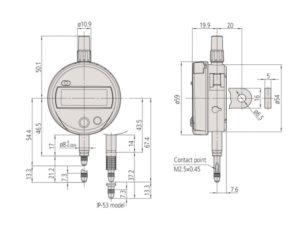 ABS Digimatic Indicator ID-C-Standard Type
